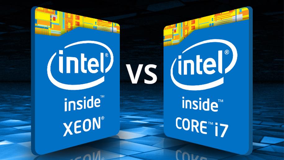 تفاوت پردازنده Xeon با پردازنده Core