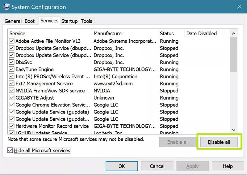 عیب یابی ویندوز 10 با قابلیت Clean Boot