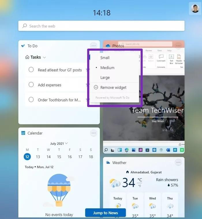چطور در ویندوز ۱۱ از ویجت ها استفاده کنیم ؟