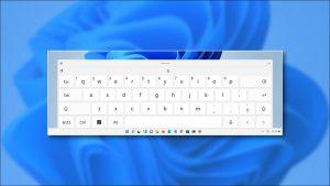 غیرفعال کردن تصحیح خودکار صفحه کلید لمسی در ویندوز 11