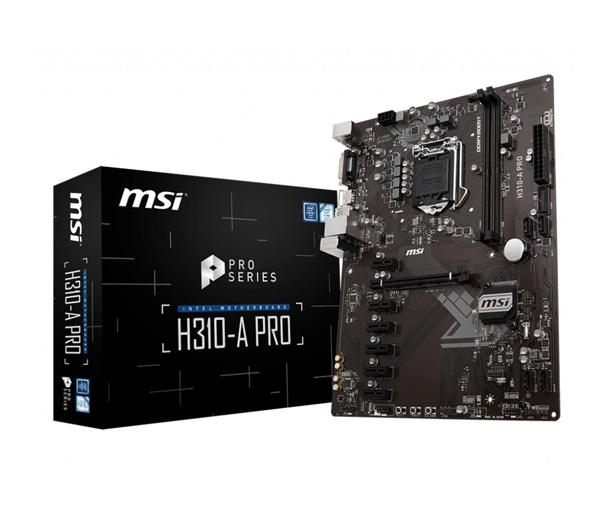 مادربرد مناسب بازی MSI H310 LGA 1151